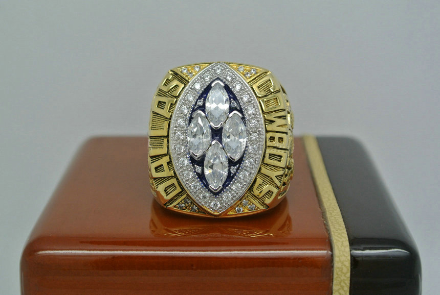 1993 Super Bowl XXVIII Dallas Cowboys Emmitt Smith Championship Ring