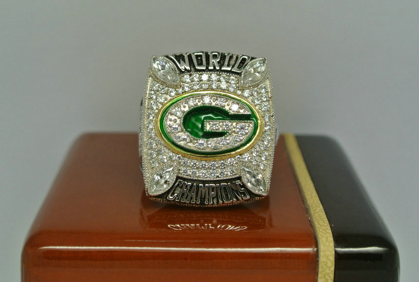 2010 Super Bowl XLV Green Bay Packers Aaron Rodgers Championship Ring