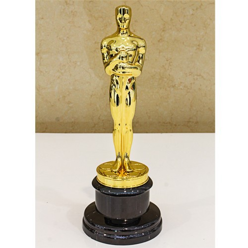 Academy Oscar Awards , Zinc Alloy Oscar Awards Trophy