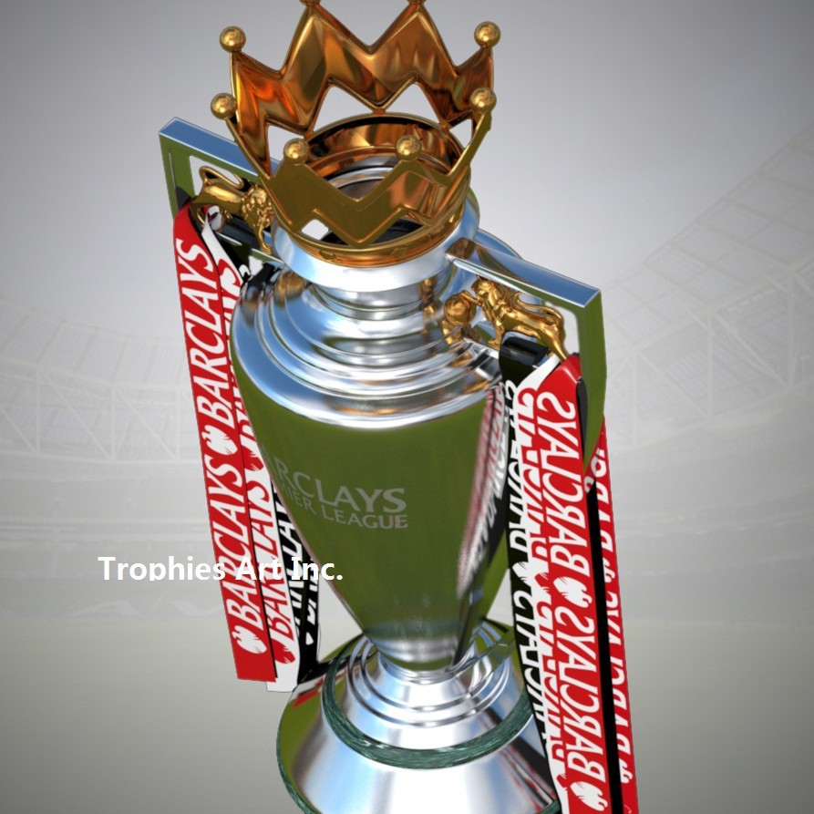 FA Premier League Trophy Premier League Cup Replica Trophy ...