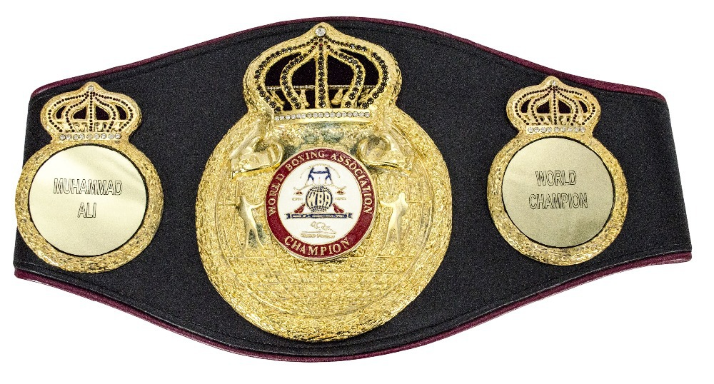 WBA Champions Belt Boxing Legends Simply The Pioneer Awards Rep