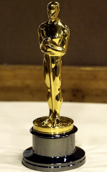 Academy Awards Oscar Statuette Trophy (8lbs, 12in) 100% Size Rep