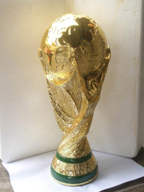 World Cup Trophy 18K Gold 36.8cm(14'') Tall 2018 Football Champi